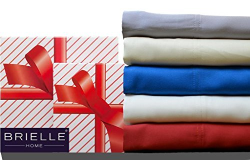 Brielle Bamboo Twill Sheet Giftable