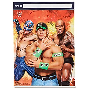 WWEParty Folded Loot Bag, Party Favor