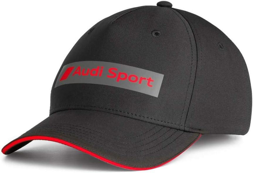 Standard Size AUDI 3132001400 Original Sport Baseball Cap Black
