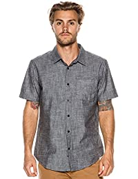 New Hurley Men's One & Only Ss Shirt 3.0 Short Sleeve Red