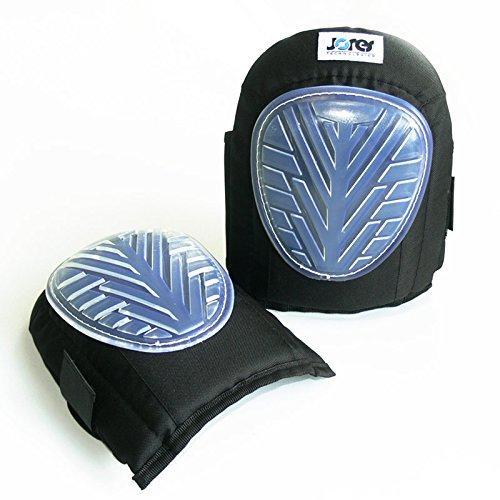 JORESTECH Comfort Gel Protective Knee Pads Construction Carpentry Memory Foam Lined