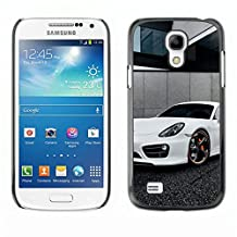 GRECELL CITY GIFT PHONE CASE /// Cellphone Protective Case Hard PC Slim Shell Cover Case for Samsung Galaxy S4 Mini i9190 /// White Panamera
