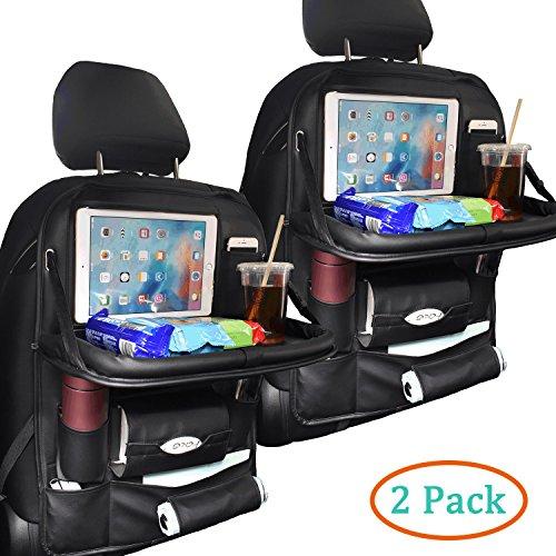 back seat car organizer with tray - 3