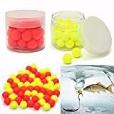 Fishing - 30pcs 12mm Round Tackles Flavor Feeder Beads Floating Fishing Lure Carp Baits - Sweetener Chicane Cavil Decoy