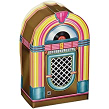 Beistle 54125 3-Pack Jukebox Favor Boxes, 3-1/2-Inch by 6-Inch