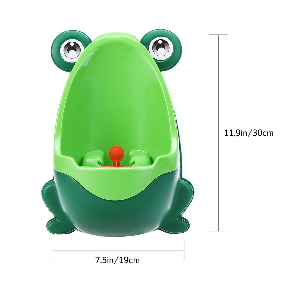 blue Urinoir de bebe toilette Pot Potty Children Frog Pee Trainer de Salle Colorful Frog Boys Urinoir de formation toilette de b/éb/é par le soleil D pot de toilette bebe