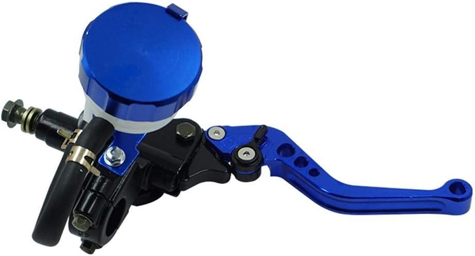 22mm motocicleta embrague hidr/áulico cilindro maestro del freno CNC bomba de la maneta palanca for Honda Yamaha Suzuki Accesorios de motos Color : Red