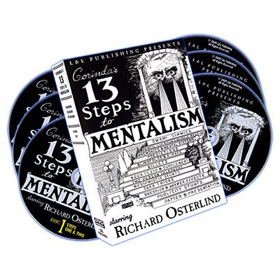 MMS 13 Steps to Mentalism (6 DVDs) by Richard Osterlind DVD by MMS (Image #1)