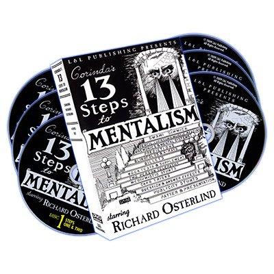 MMS 13 Steps to Mentalism (6 DVDs) by Richard Osterlind DVD