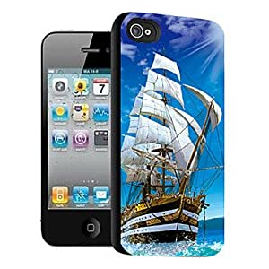 JJESailing Pattern 3D Effect Case for iPhone5