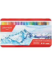Caran d'Ache 7500.384 Classic Neocolor II Water-Soluble Pastels, Multicolors, 84 Count