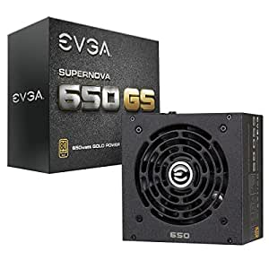 EVGA Supernova 650 GS, 80+ Gold 650W, Fully Modular, EVGA ECO Mode, 5 Year Warranty, Includes Free Power On Self Tester Power Supply 220-GS-0650-V1