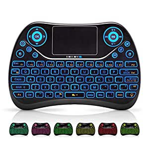 mini wireless keyboard remote keyboard with multimedia keys 2 4ghz usb rechargable. Black Bedroom Furniture Sets. Home Design Ideas