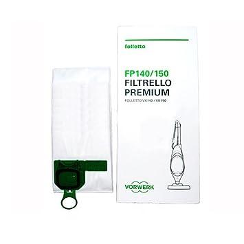 Vorwerk Kobold VK 140/150 bolsas para aspiradora: Amazon.es ...