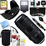 Beach Camera Tamron 100-400mm F/4.5-6.3 Di VC USD Lens for Canon AFA035C-700 + 64GB Ultimate Filter & Flash Photography Bundle