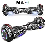 cho Electric Smart Self Balancing Scooter Hoverboard Built-in Speaker LED Wheels Side Lights- UL2272 Certified