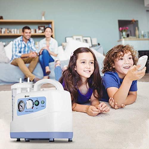 Huapa Aspirador Automática Máquina De Succión,portátil Aspiración Recipiente De Succión con Secreción De Moco para El Cuidado En El Hogar (Incluye El Recipiente De Succión De 1000 CC): Amazon.es: Hogar