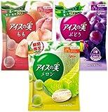 グリコ アイスの実 ぶどう もも メロン 84ml(7ml×12個)×24袋