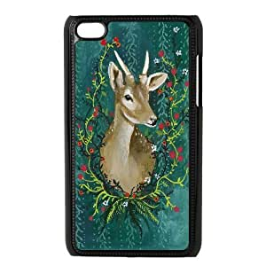 Protect deer Hard Snap Phone Case Cover For For Ipod Touch 4 Case color11