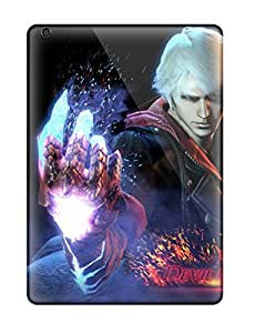 QwO542oemH Tpu Phone Cases With Fashionable Look For Ipad Air - Nero Devil May Cry 4