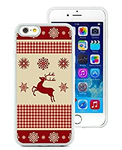 Design for Mass Customization iPhone 6 Case,Winter Pattern With Deer White iPhone 6 4.7 Inch TPU Case 1 by icecream design