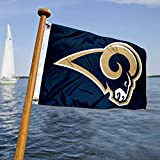WinCraft Los Angeles Rams Boat and Golf Cart Flag
