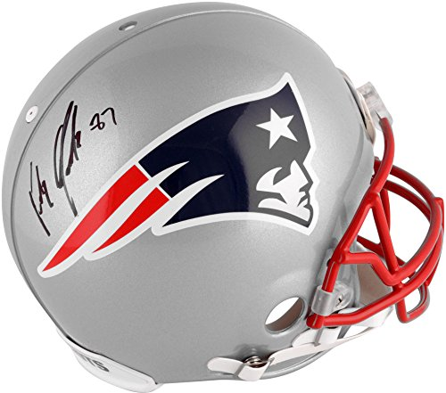 Rob Gronkowski New England Patriots Autographed Proline Helmet - Fanatics Authentic Certified - Autographed NFL Helmets ()