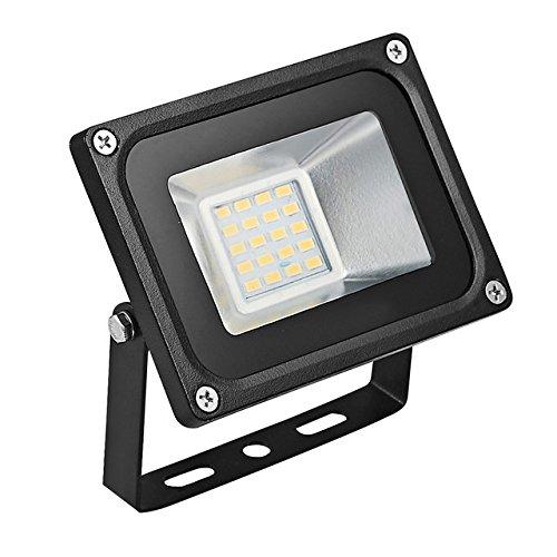 (Warm White, 20W : GERUITE 20W LED Floodlight 220V 5730 SMD 2200 LM Floodlights LED Flood Lamp for Signs Stadium Square Billboard Parking)