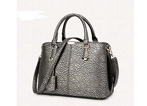La bolsa de mensajero, hombro marea bolso de la señora, los nuevos bolsos de la PU Bronze