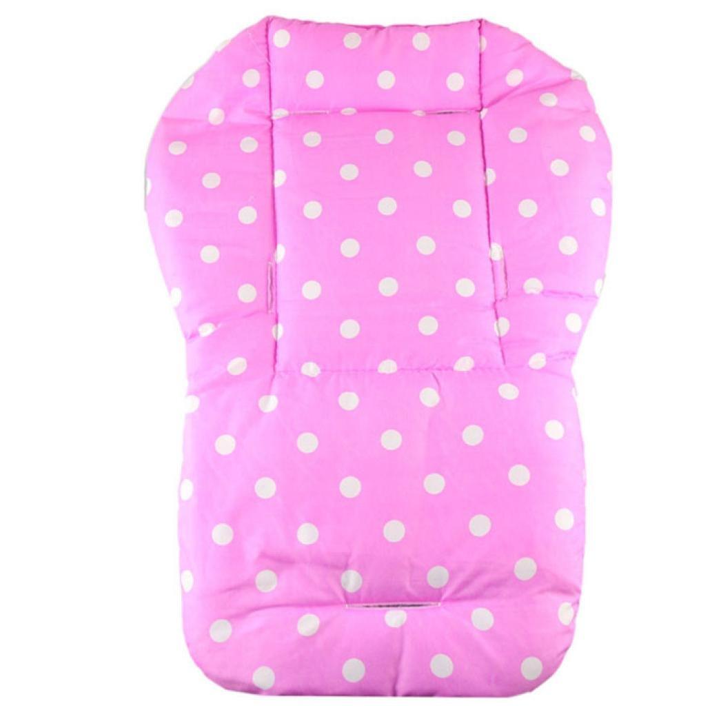 Koly® Baby Thickness Colorful Stroller Pram Cushion Kids Cart Seat Cushion General Cotton Thick Mat (Blue) Koly-SC