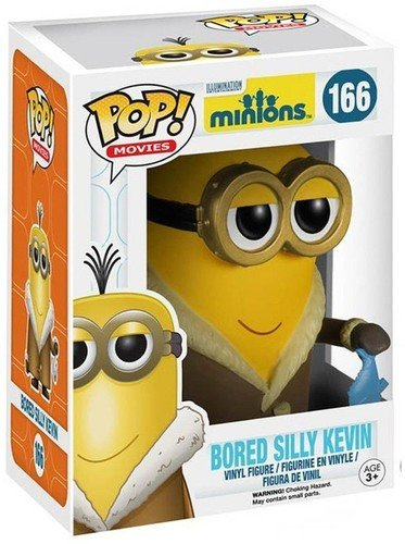 Funko POP Movies: Minions Figure, Bored Silly Kevin -