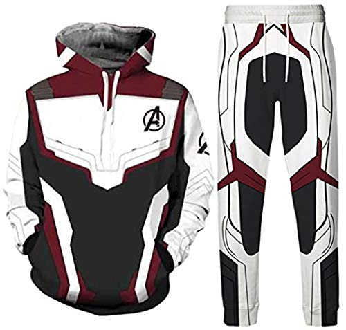 Men's and Boy T-Shirt Avengers Suits Cosplay Quantum Realm Superhero Athletic Suit (3,XXXL)]()