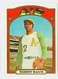 1972 Topps Baseball 41 Tommy Davis Oakland Athletics Near-Mint