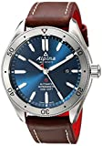 Alpina Men's 'Alpiner 4' Automatic Stainless Steel and Leather Casual Watch, Color:Brown (Model: AL-525NS5AQ6)