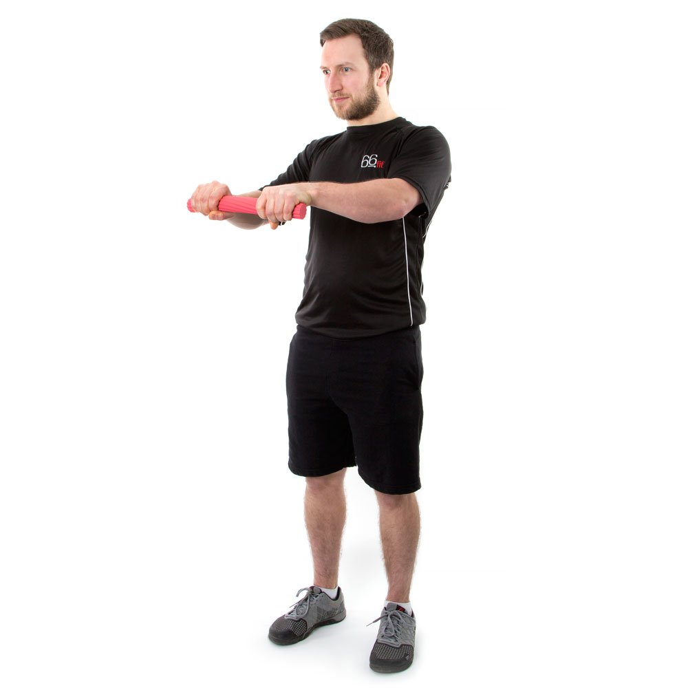 Red One Size 66fit BR//3238R Twist Undflex Bend Weight Bar