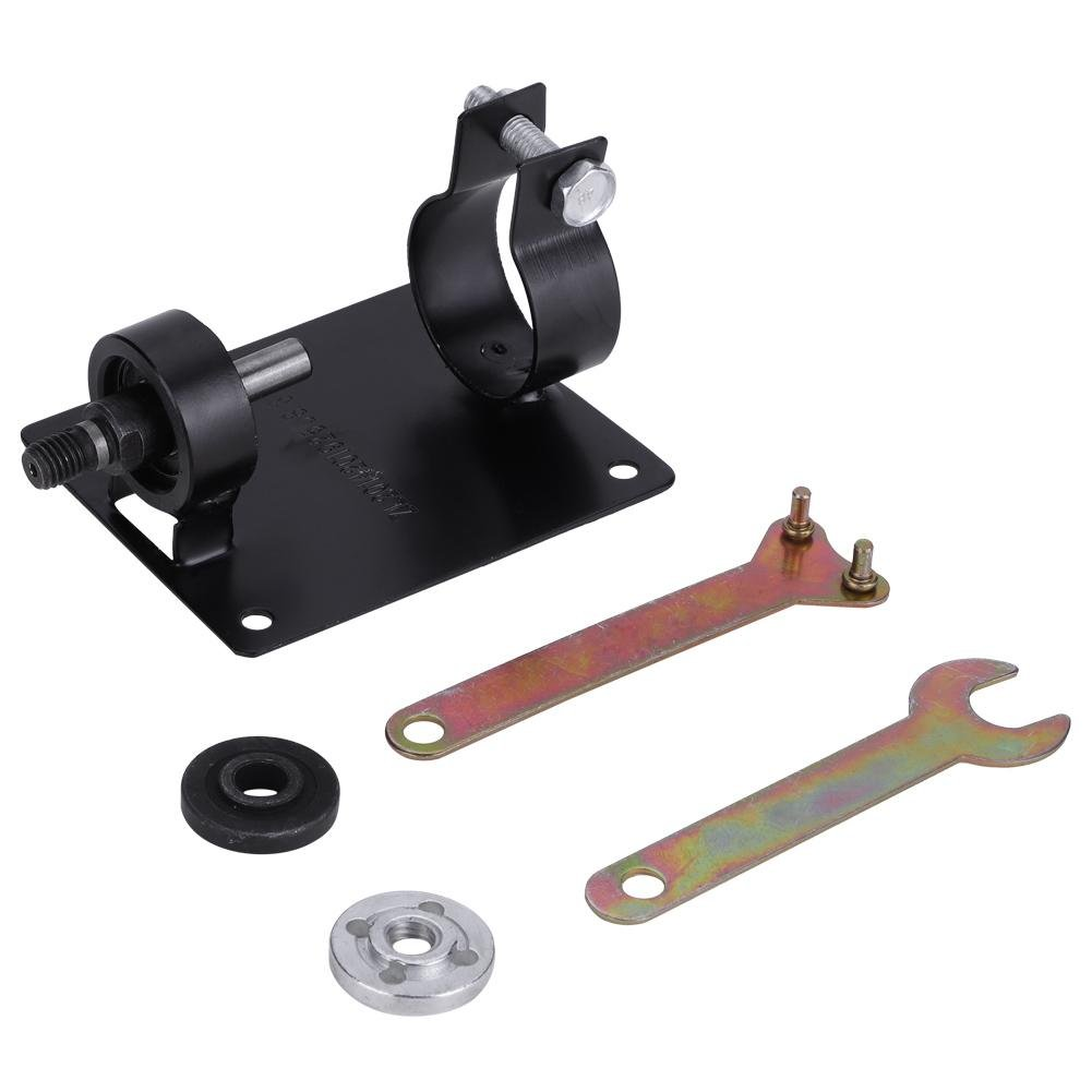 Electric Drill Cutting Polishing Grinding Seat Stand Holder Bracket DIY Electric Drill Rotary Tools with 2 Wrenches (13MM)