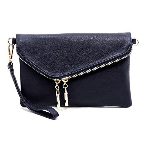 Envelope Bagblaze Sea Chain Bag with Clutch Deep Strap Crossbody Wristlet Foldover dvwpqrv