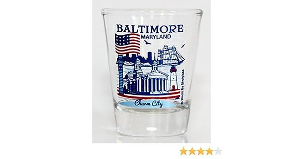 Baltimore Maryland Great American Cities Collection Shot Glass World By Shotglass baltimoremdgacc