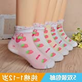 Children purchase Japanese summer cotton lace fishnet stockings thin cotton socks baby boys and girls socks baby socks 3-