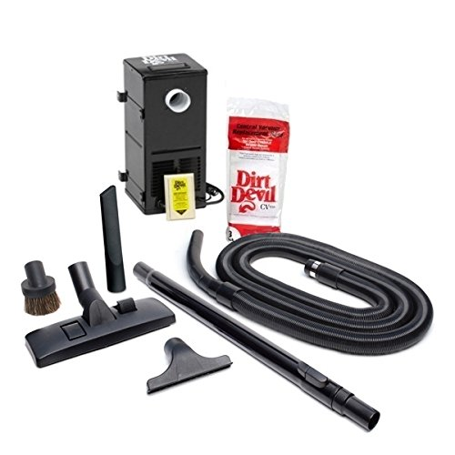 HP Products 9614 Black All-in-One Central Vacuum System by HP