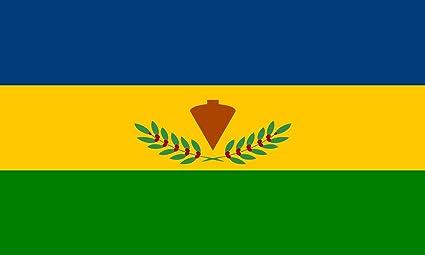 magFlags Bandera Large Municipio Córdoba y su Capital Santa Ana del Táchira | Bandera Paisaje | 1.35m² | 90x150cm: Amazon.es: Jardín