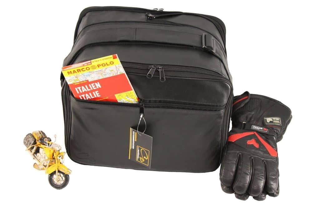 - cuir de haute qualit/é b/œuf m4b: BMW R1200 F650 F700 F800 R1200 GS: Poches int/érieures//sacs int/érieurs pour valises lat/érales Vario