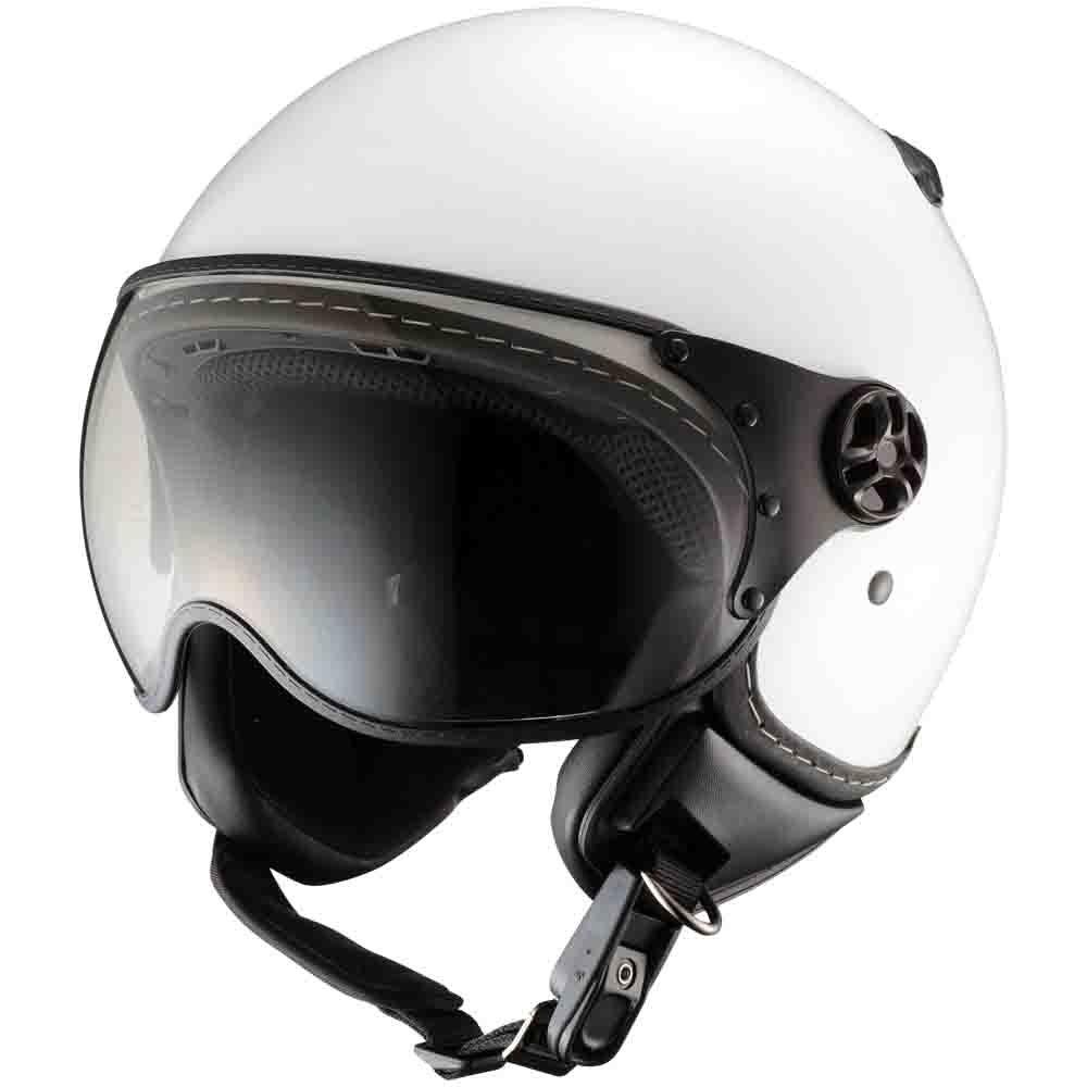 シレックス (Silex) ジェットヘルメット バーキン(BARKIN) レギュラー2 ソリッドホワイト XLサイズ(60-62cm) ZZ210K-RSWH-XL B078ZT9B76 60-62CM|ソリッドホワイト ソリッドホワイト 60-62CM