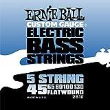 Ernie Ball Flatwound 5-string Bass Set.045 - .130