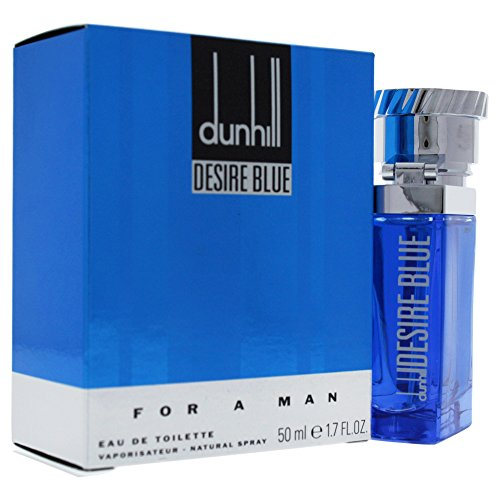 Alfred Dunhill Desire Blue Eau De Toilette Spray for Men, 1.7 Ounce