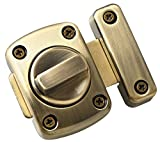 Alise MS220C-Q Rotate Bolt Latch Gate Latches safety Door Lock,Oil Rubbed Bronze