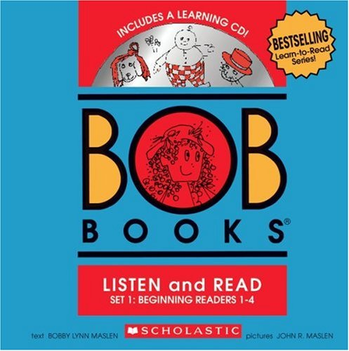 BOB Books Set 1 Bind-up: Books #1-4 + CD