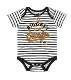 Baltimore Orioles Infant Onesie Size 0-3 Months Bodysuit Creeper White