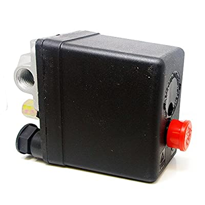 Bestcompu Air Compressor Pressure Switch Unload Valve for Hitachi 882-609 PS104PPL Push