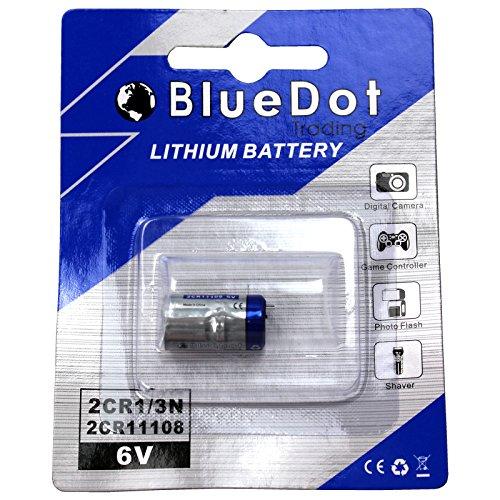 BlueDot Trading 2CR1/3N Lithium Cell Battery, 1 Battery